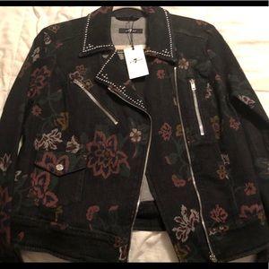 """""""7"""" NWT Ladies denim jacket"""